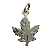 Vintage Leaf Canada Pendant Sterling Silver Accessories Jewellery (DEV228-) - $7.00