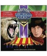 Doctor Who: Hornets Nest, Circus Of Doom - Audio/Spoken CD ( New Sealed ) - $12.80