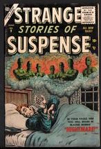 STRANGE STORIES OF SUSPENSE #9-1956-ATLAS HORROR-BILL EVERETT - $155.20