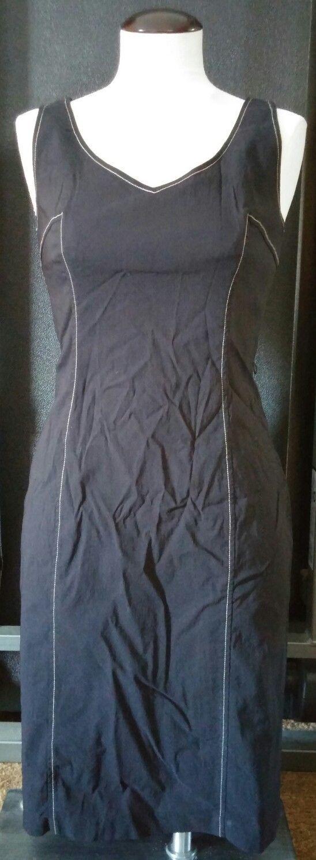 Express World Brand Womens Black Dress Size 7/8 Stretch Sleeveless Career Casual - $20.85