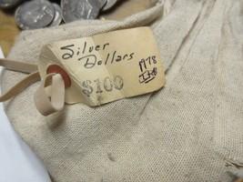 1978 , Eisenhower Dollars , Lot of 100 , Uncirculated , Original Mint Bag - £233.32 GBP