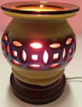 Electric Ceramic Fragrance Lamp/ Oil Burner/Wax Warmer/ Night Light my-621 - $22.72