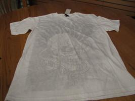 Boys Quiksilver BTO T shirt surf skate XL gutter white TEE surf skate - $8.35