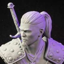 Base Included - Hired Monster Hunter - 3D - Printed HQ - Resin Miniature - Unpai - $19.99