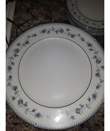VTG Sango Blue Chalet China Dinner Plates  - $62.50