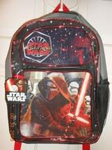 Disney Star Wars The Force Awakens book bag backpack mesh side pockets C... - $10.40