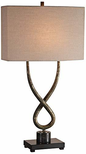 Uttermost Talema Twisted Steel Base Table Lamp