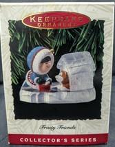 1993 FROSTY FRIENDS 14th in Hallmark Series QX4142 Eskimo Husky Pup Ice ... - $16.82
