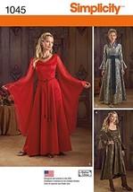 Simplicity Creative Patterns US1045RR Misses Fantasy Costumes, Size RR (... - $13.23