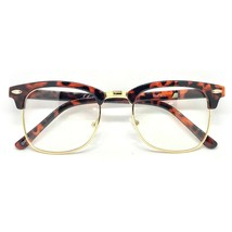 Classic Vintage Retro Fashionable Mens Womens Malcolm X Style Clear Lens... - $14.54