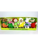 NEW IN BOX fruit collection scented bears stuffed animals - $80.00