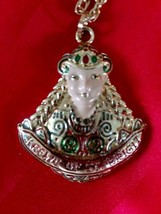 Goldtone Metal KREWE OF ST. BRIGIT Gasparilla Mardi Gras Party Beads Nec... - $14.50