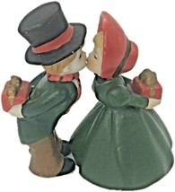 Enesco Holiday Couple Couple Christmas Time Presents Behind Back by - $18.99
