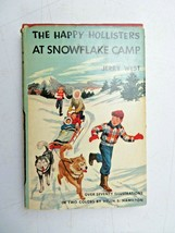 The Happy Hollisters at Snowflake Camp by Jerry West 1954 HC DJ Illustra... - $14.00