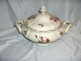 "Vintage Rosenthal China Pompadour Selb Germany 9"" Covered Veggie Bowl NICE - $64.35"