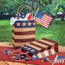 Medium Americana Kraft Paper Gift Bags, 12 Per Order - $10.43