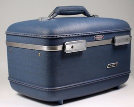 AMERICAN TOURISTER Tri-Taper Hard Side SuitcaseTrain Case makeup case 50... - $34.64
