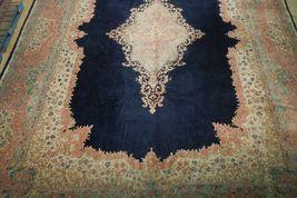 11x17 Navy Blue Handmade Open Field Durable Fine Original Persian Rug image 12