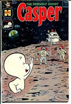 Casper The Friendly Ghost #138-moon landing-American Flag-rare issue-VG+ - $58.01