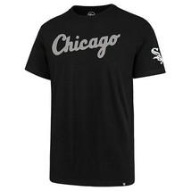 MLB Chicago White Sox T Shirt Large Embroidered Retro 2XL Black Vintage New - $32.62