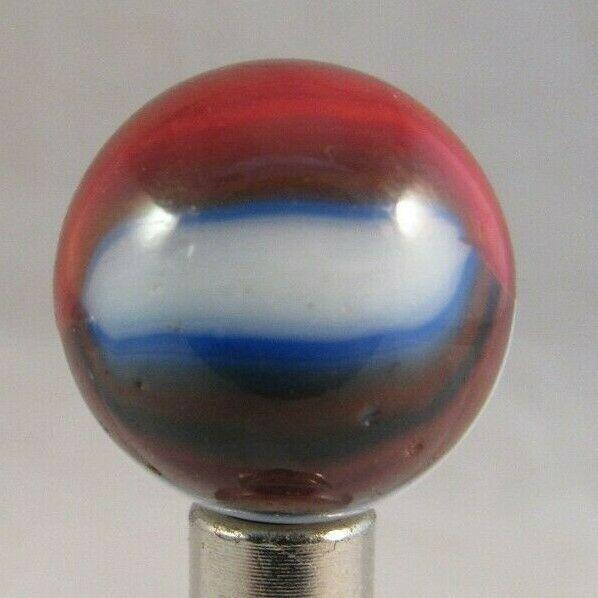 "INTERESTING vintage AKRO AGATE SHOOTER marbles 3/4"" rare old ESTATE SALE - $28.04"