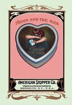 Arms and the Man - Tin by Buedingen Box & Label Co. - Art Print - $19.99+