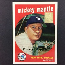 '59 Topps Mickey Mantle Commerative Set #9 1996 Topps MLB HOF New York Y... - $3.91