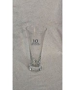 Ten Saints Barbados  Lager Beer Glass  Caribbean Pilsner Foursquare Rum ... - $13.30