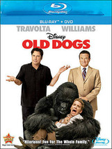 Disney Old Dogs Blu-ray DVD 2 Disc Combo Pack John Travolta and Robin Wi... - $12.99
