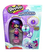 Shopkins Happy Places Color Changing Tail Ria Ribbons Mermaid Season 6 - $7.95