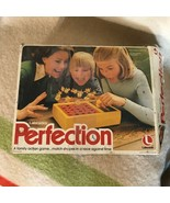 Perfection Game 1975 Lakeside Missing 4 Pieces - $4.94