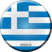 Greece Country Novelty Metal Circular Sign - $21.95