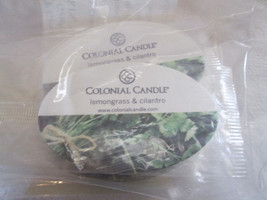 25 Colonial Candle Testers Scented Cards~~LEMONGRASS & CILANTR~~ Scented... - £9.66 GBP