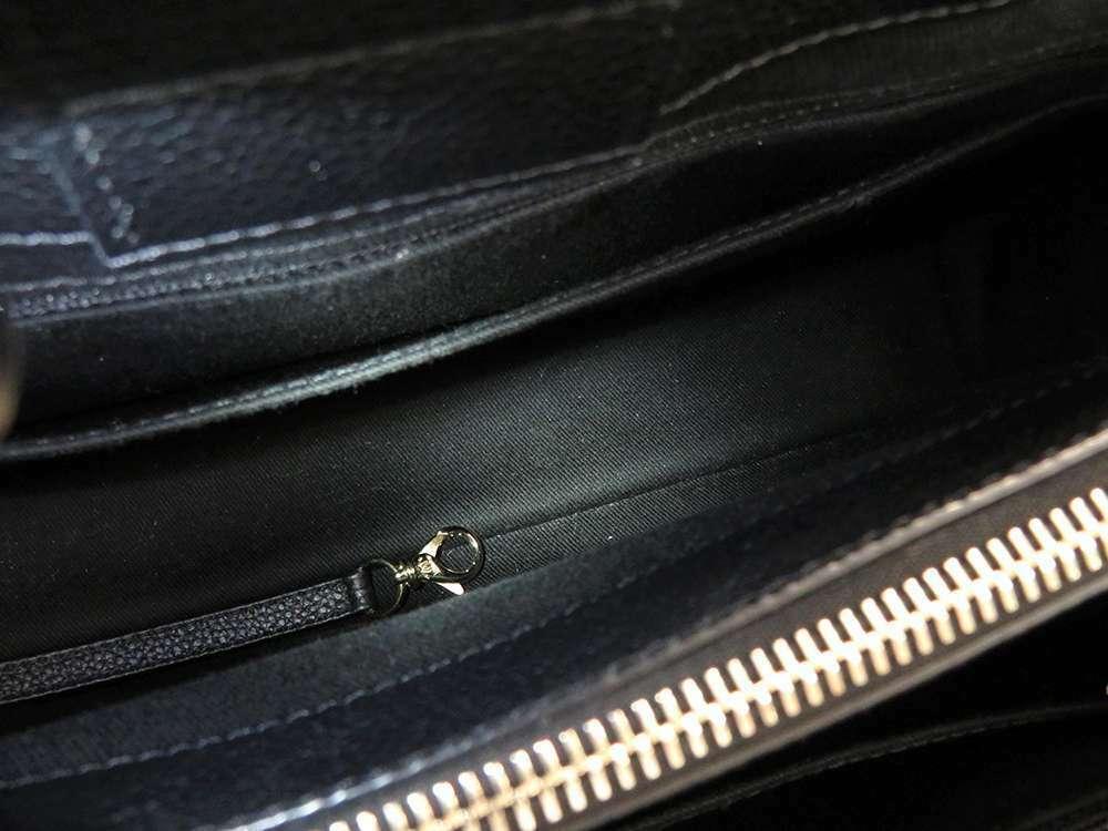 CHANEL Neo Executive Calf Off White Black A69930 Handbag 2Way France  Authentic
