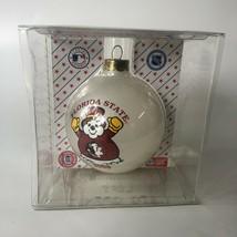 Vintage Florida State University FSU Seminoles Snowman Ornament 2005 Chr... - $18.00