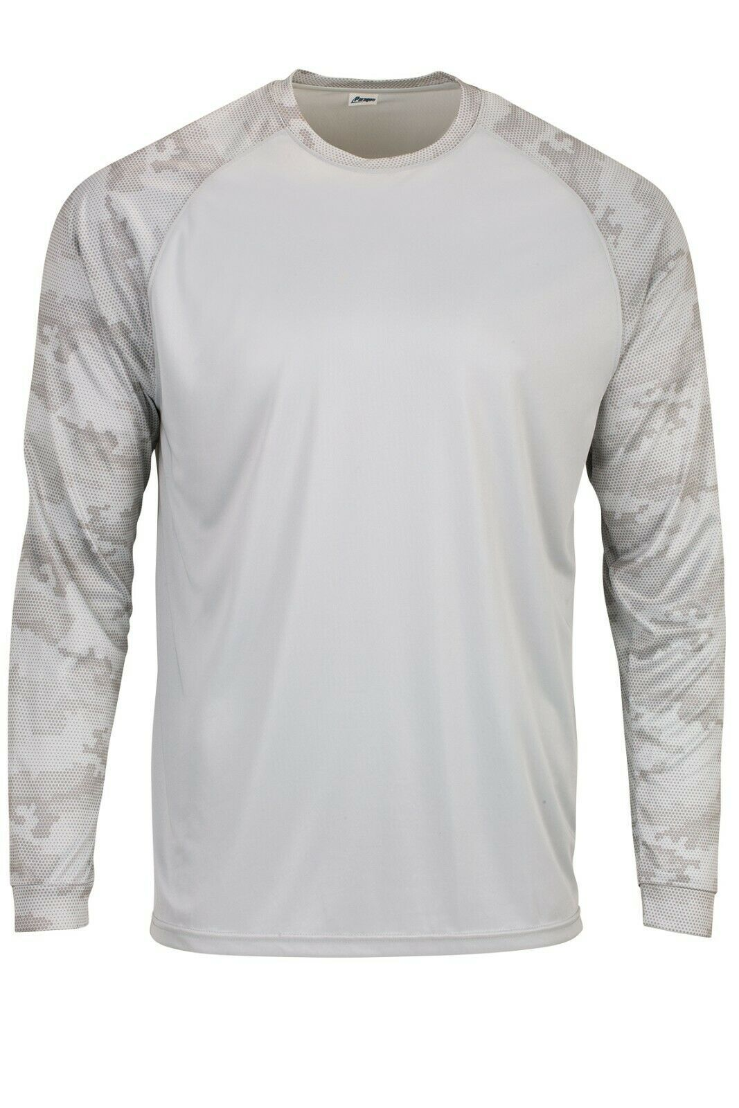 Sun Protection Long Sleeve Dri Fit Aluminum Gray sun shirt Camo Sleeve SPF 50+