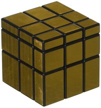 3 x 3 Gold Mirror Smooth Speed Cube Puzzle Toy Rubic Game Rubik NEW STYL... - $4.57