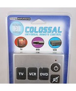 Colossal Universal Remote Control 3 Devices TV VCR DVD Living Solutions ... - $17.70
