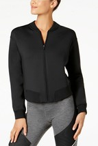 Nike Womens Therma Sphere Max Training Bomber Jacket Black XL 4815-3 - $99.42