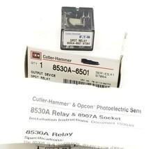 NIB CUTLER-HAMMER 8530A-6501 OUTPUT DEVICE DPDT RELAY, SER A1, 97064, 8530A6501
