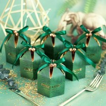 Diy Candy Boxes With Ribbon Chocolate Gift Souvenirs For Guests Party Su... - $25.98+
