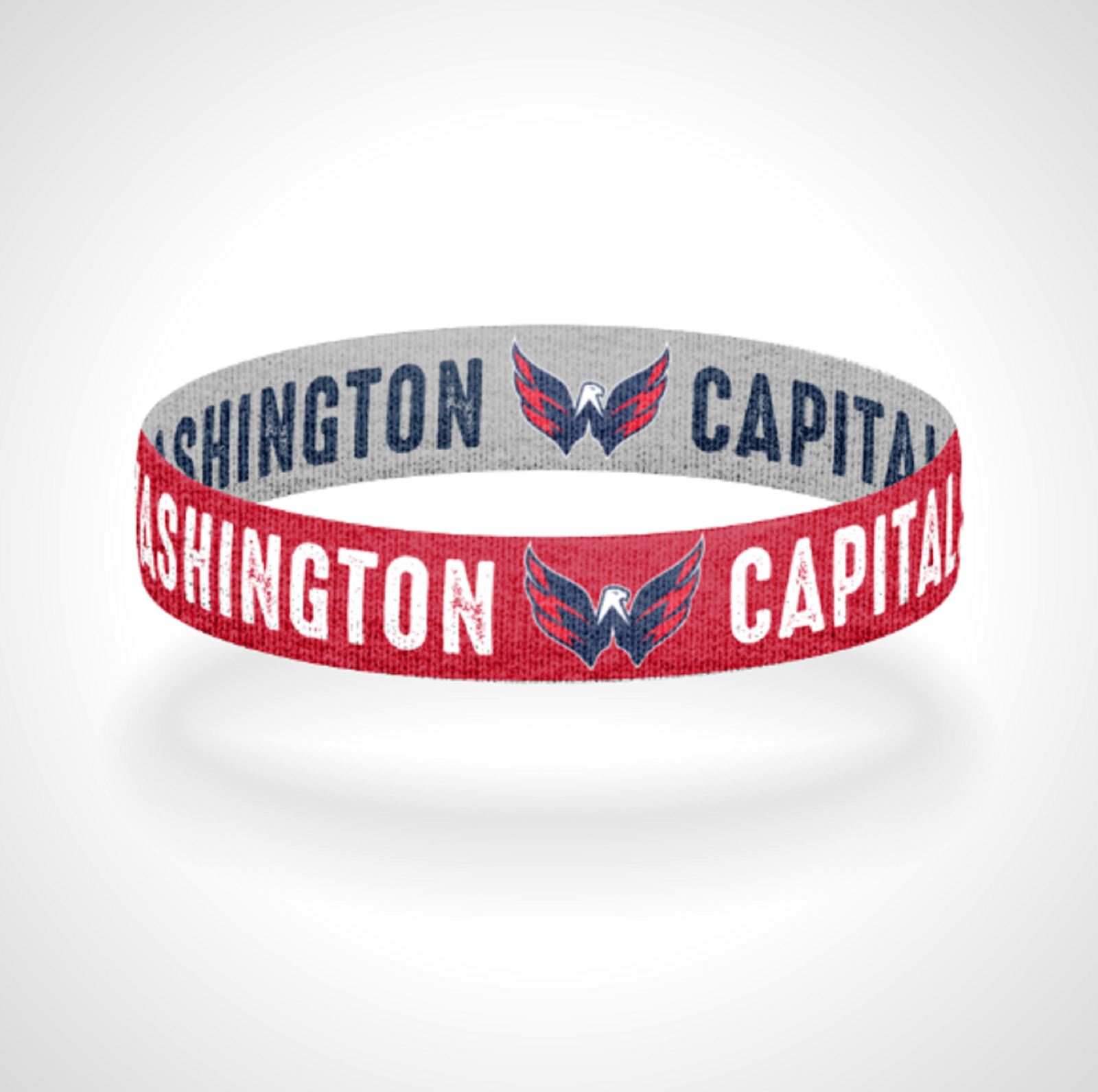 Primary image for Reversible Washington Capitals Bracelet Wristband Go Caps All Caps