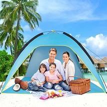 Sumerice Family Beach Tent and Sun Shade UV Cabana Shelter | Camping, Hi... - $53.91 CAD