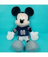 "NFL Chicago Bears Disney Mickey Mouse 17"" Plush Stuffed Animal Uniform P... - $24.74"