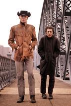 Midnight Cowboy Voight & Hoffman On Bridge Col 18x24 Poster - $23.99