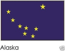 Alaska State Flag 3' by 5' with grommets TG 19502 - $28.99