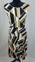 Ann Taylor Petite women 10P shift dress sleeveless career asymmetrical - $17.82