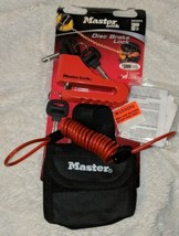 Master Lock Company Disc Brake Lock With Cable And Storage Bag image 2