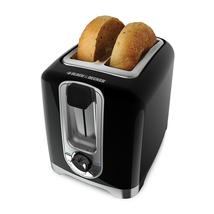 Black & Decker 2-Slice Extra Wide Slot Toaster, Black - $37.99