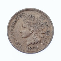 1866 1C Indian Head Cent XF Condition, All Brown Color, Clean Bold LIBERTY - $173.24